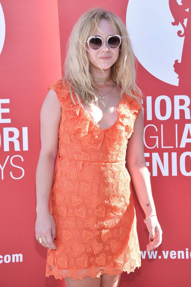 Juno Temple – 'The Bleeder' Photocall at 73rd Venice Film Festival in Italy