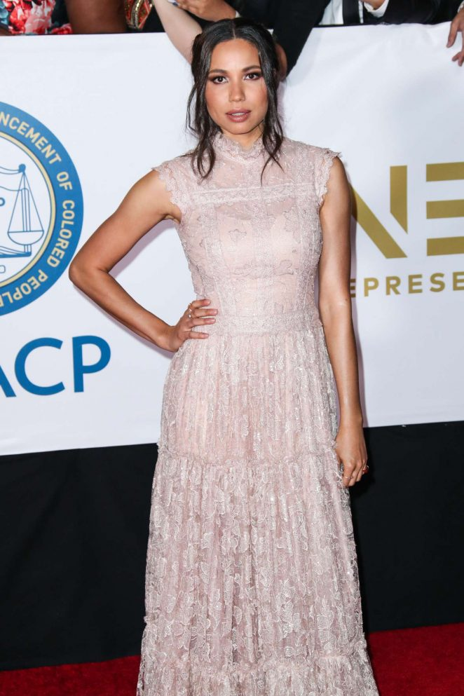 Jurnee Smollett-Bell - 49th NAACP Image Awards in Pasadena