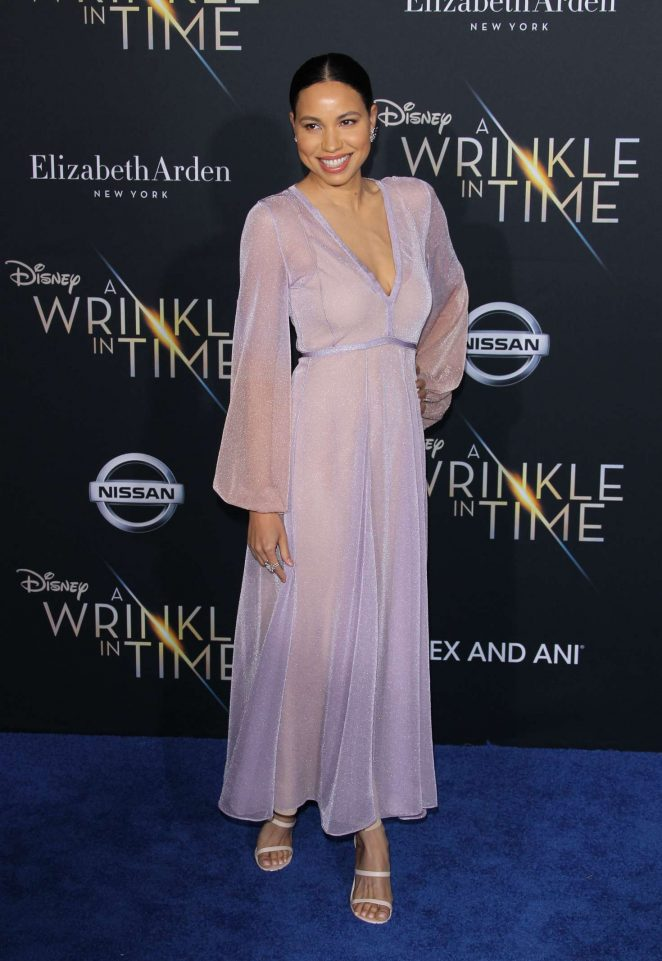 Jurnee Smollett-Bell - 'A Wrinkle in Time' Premiere in Los Angeles