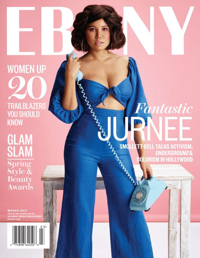 Jurnee Smollett-Bell - Ebony Magazine (March 2017)