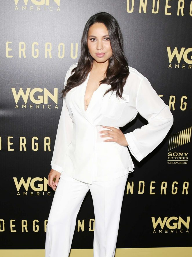 Jurnee Smollett-Bell - For Your Consideration event for 'Underground' in LA