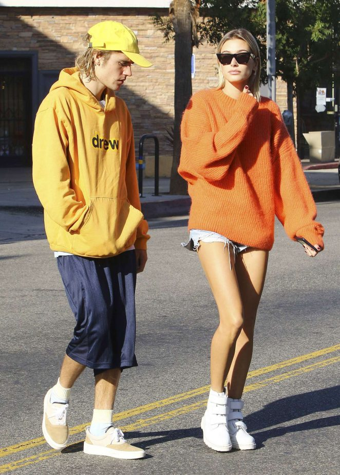 Justin Bieber and Hailey Baldwin - Out and about in Los Angeles