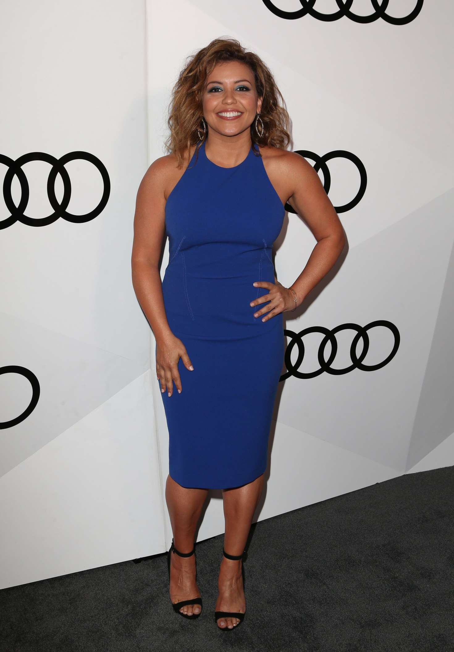 Justina Machado Audi Celebrates The 68th Emmys Party 02