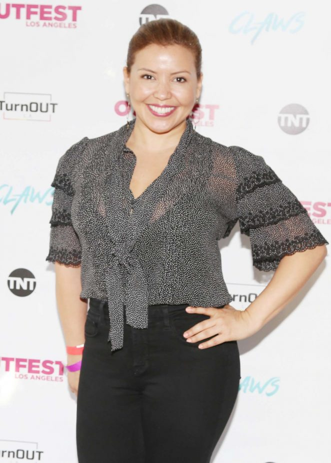 Justina Machado - Screening of TNT's Claws at The Los Angeles LGBT Center in LA