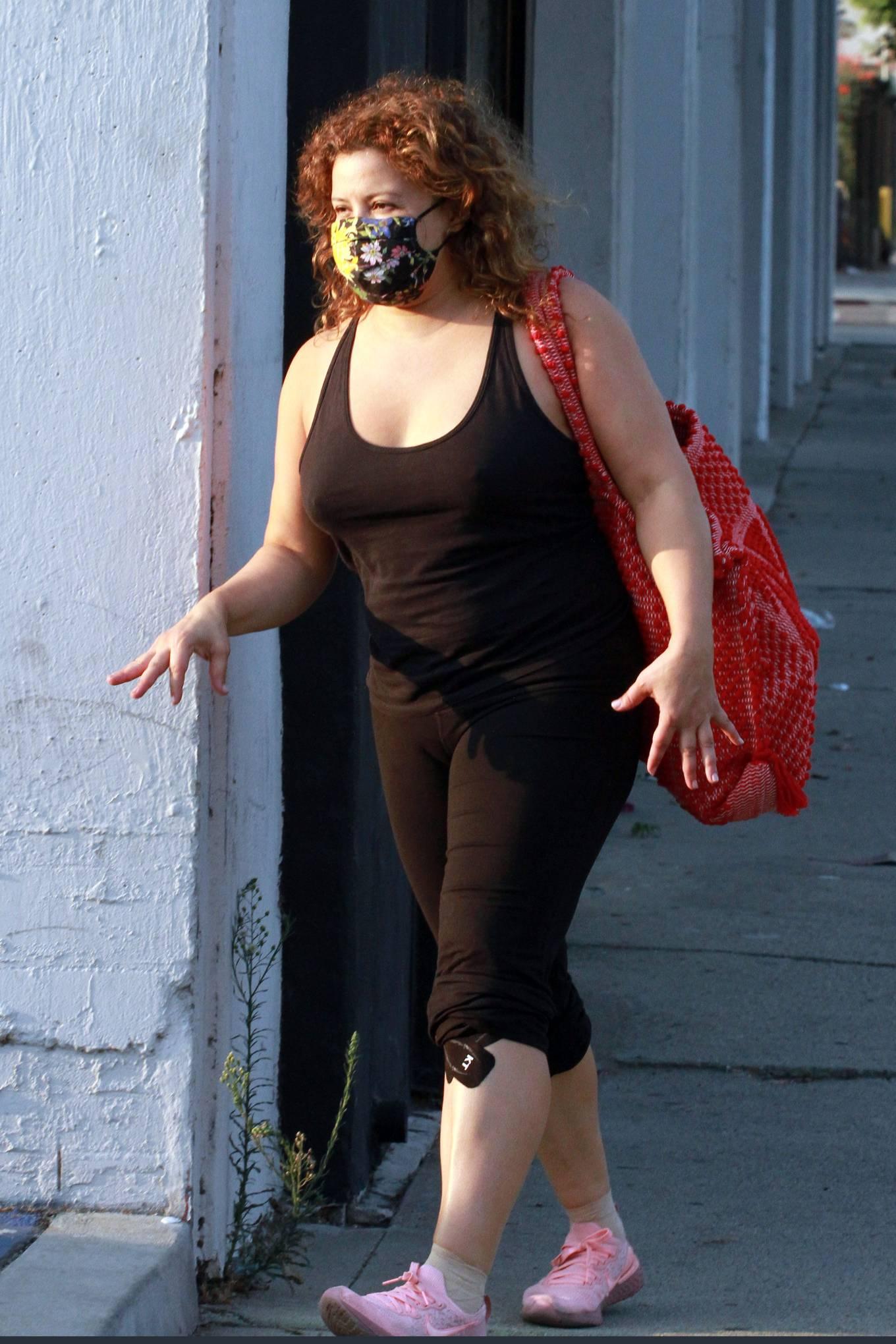 Justina Machado 2020 : Justina Machado – Seen at the dance studio in Los Angeles-01