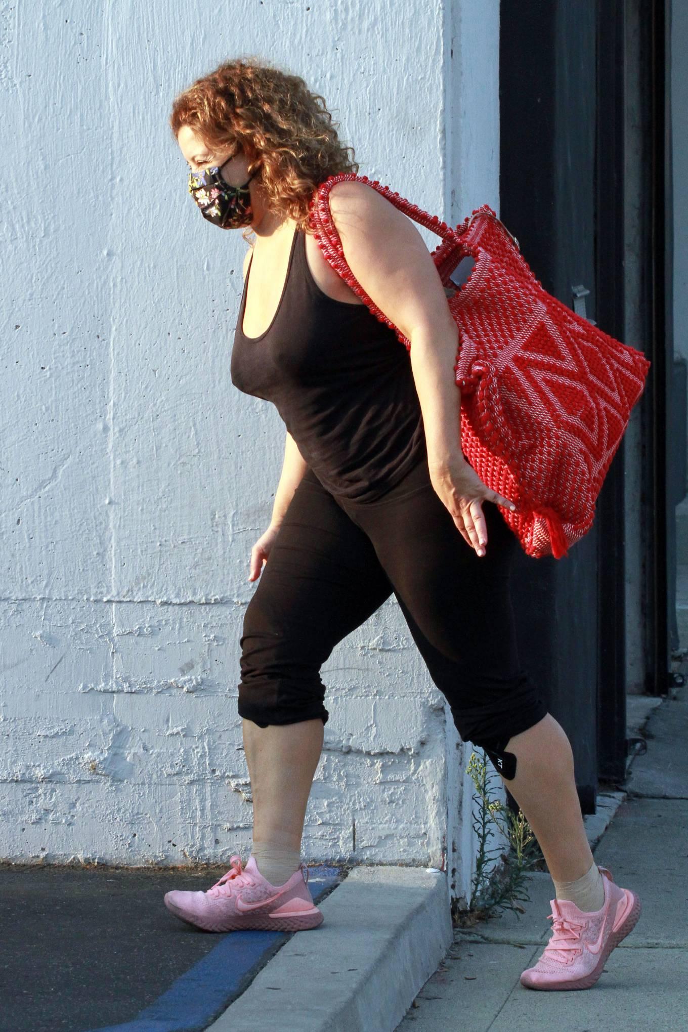 Justina Machado 2020 : Justina Machado – Seen at the dance studio in Los Angeles-07