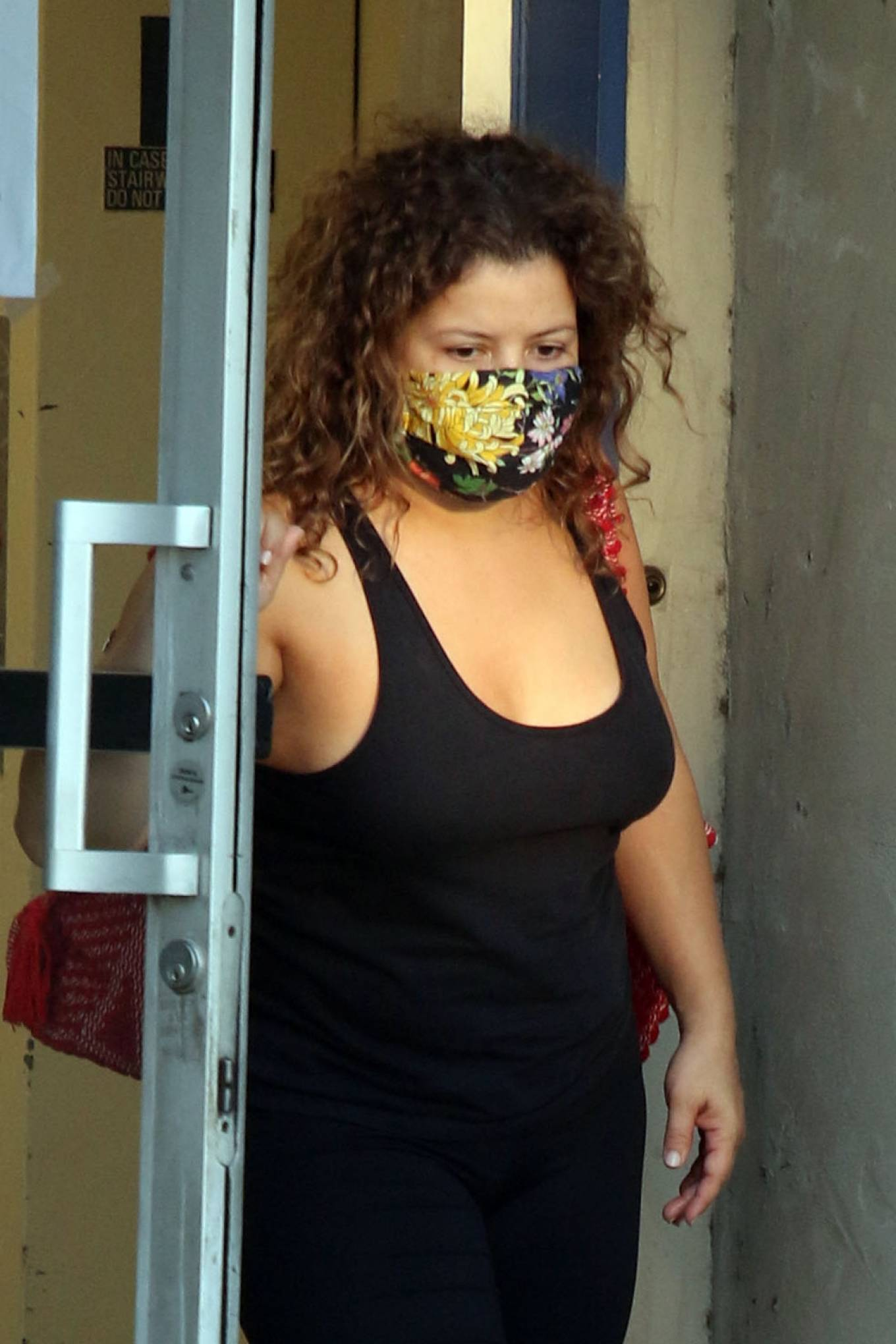 Justina Machado 2020 : Justina Machado – Seen at the dance studio in Los Angeles-08
