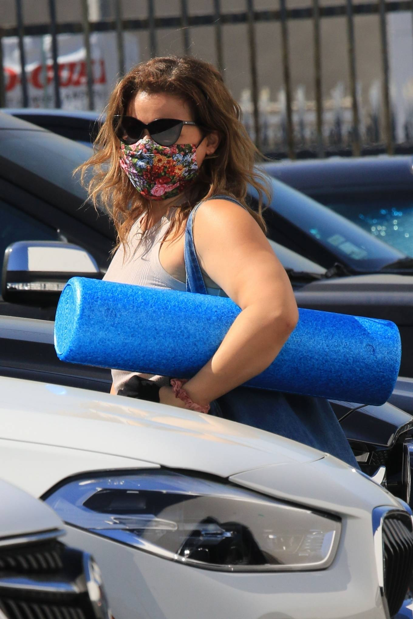 Justina Machado 2020 : Justina Machado – Seen while arriving at the DWTS studio in Los Angeles-08