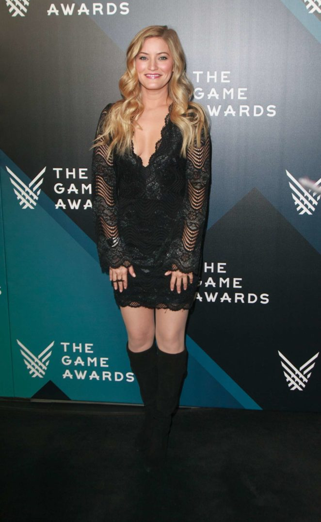 Justine Ezarik – The Game Awards 2017 in Los Angeles