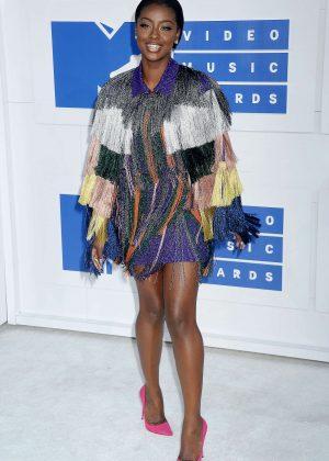 Justine Skye - 2016 MTV Video Music Awards in New York City