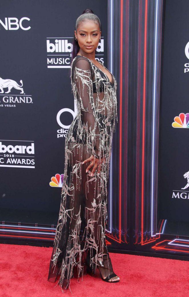Justine Skye – Billboard Music Awards 2018 in Las Vegas