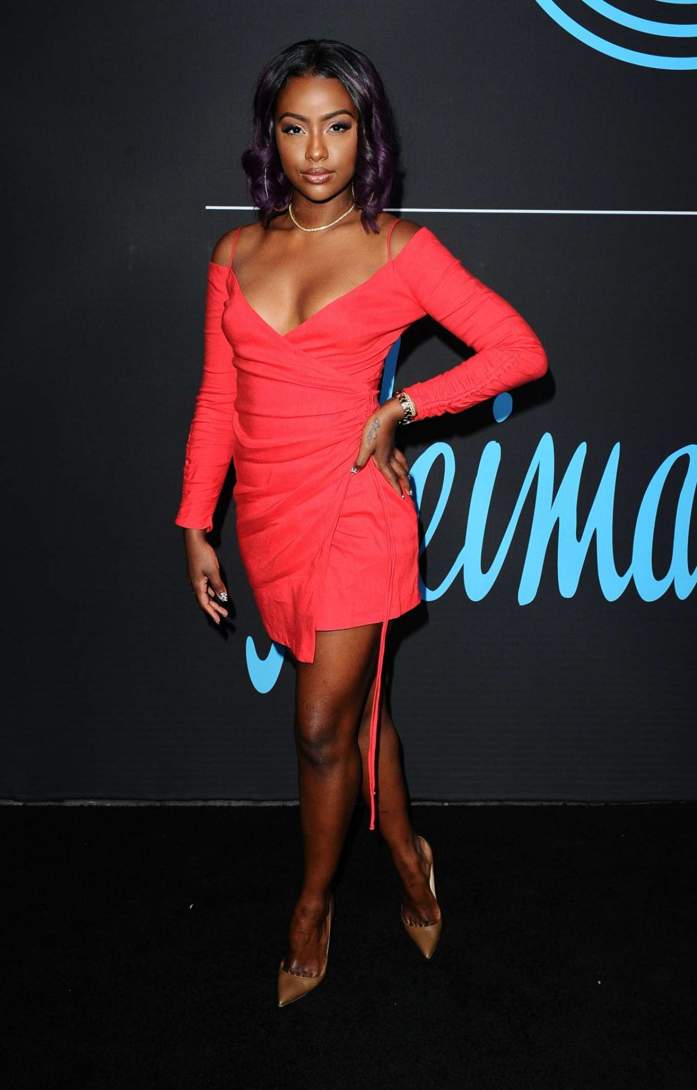 Justine Skye - GQ All Star Party in Los Angeles