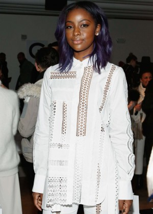 Justine Skye - Jonathan Simkhai 2016 Fashion Show in NYC