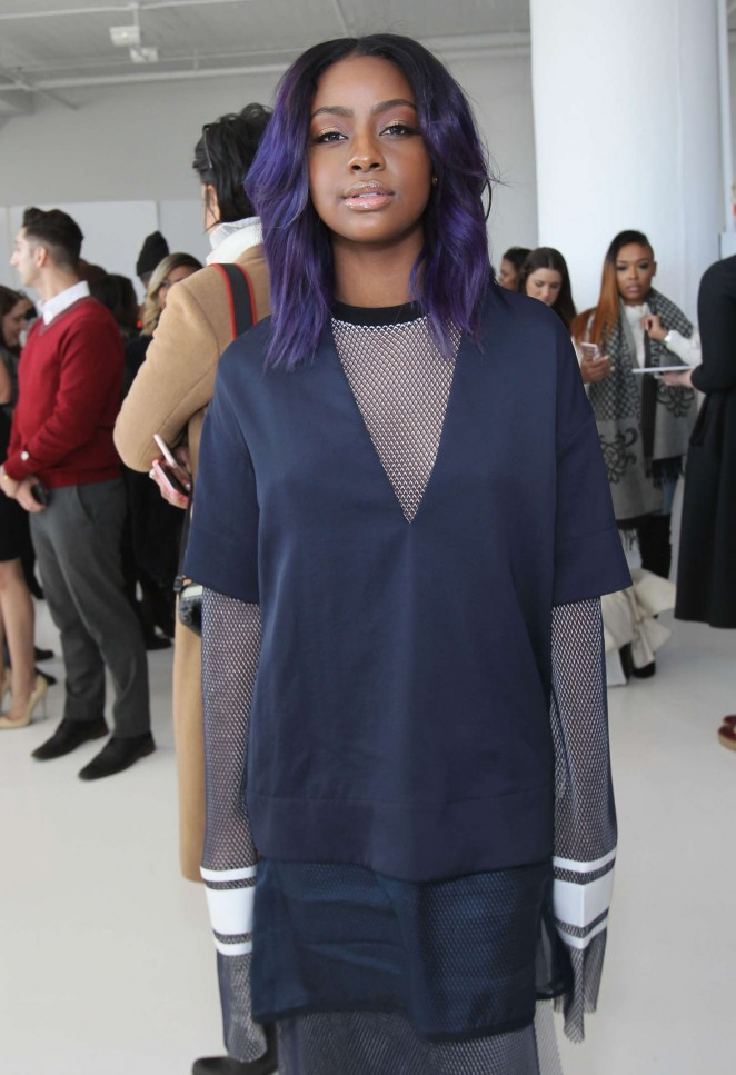 Justine Skye - Laquan Smith 2016 Fashion Show in NYC