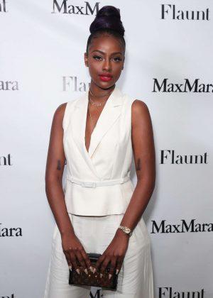 Justine Skye - Max Mara x Flaunt Dinner in Los Angeles