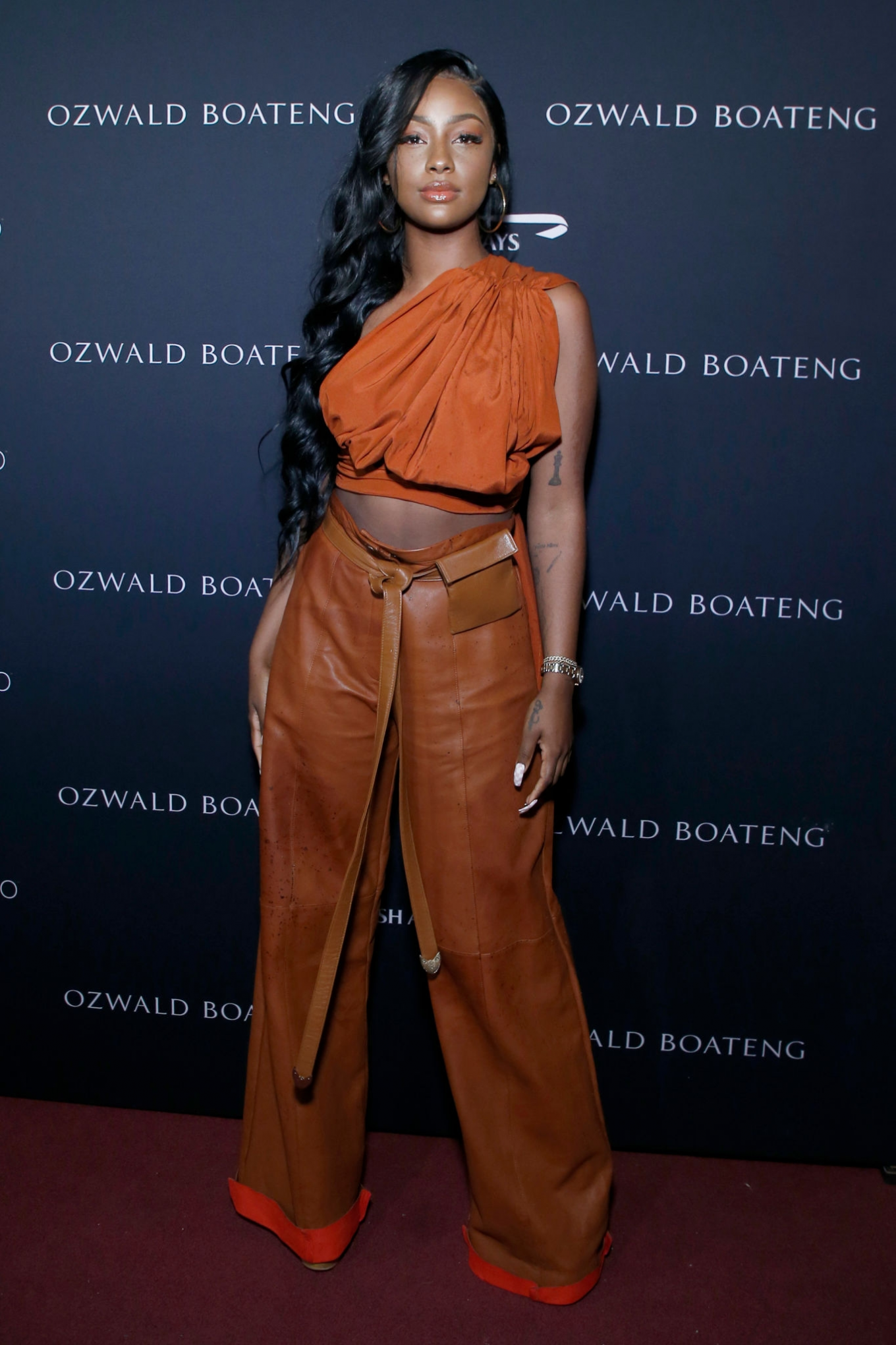 Justine Skye - Ozwald Boateng Harlem Runway Show in New York