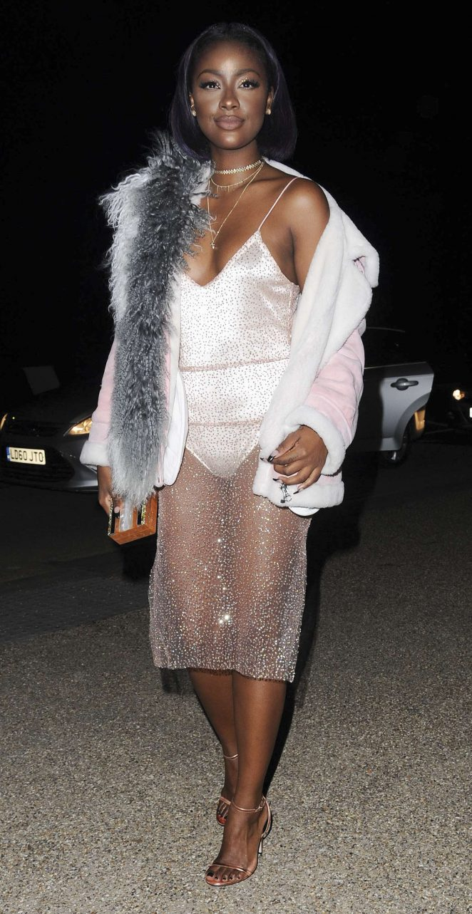 Justine Skye - River Island Film Fashion Party at 2017 LFW in London