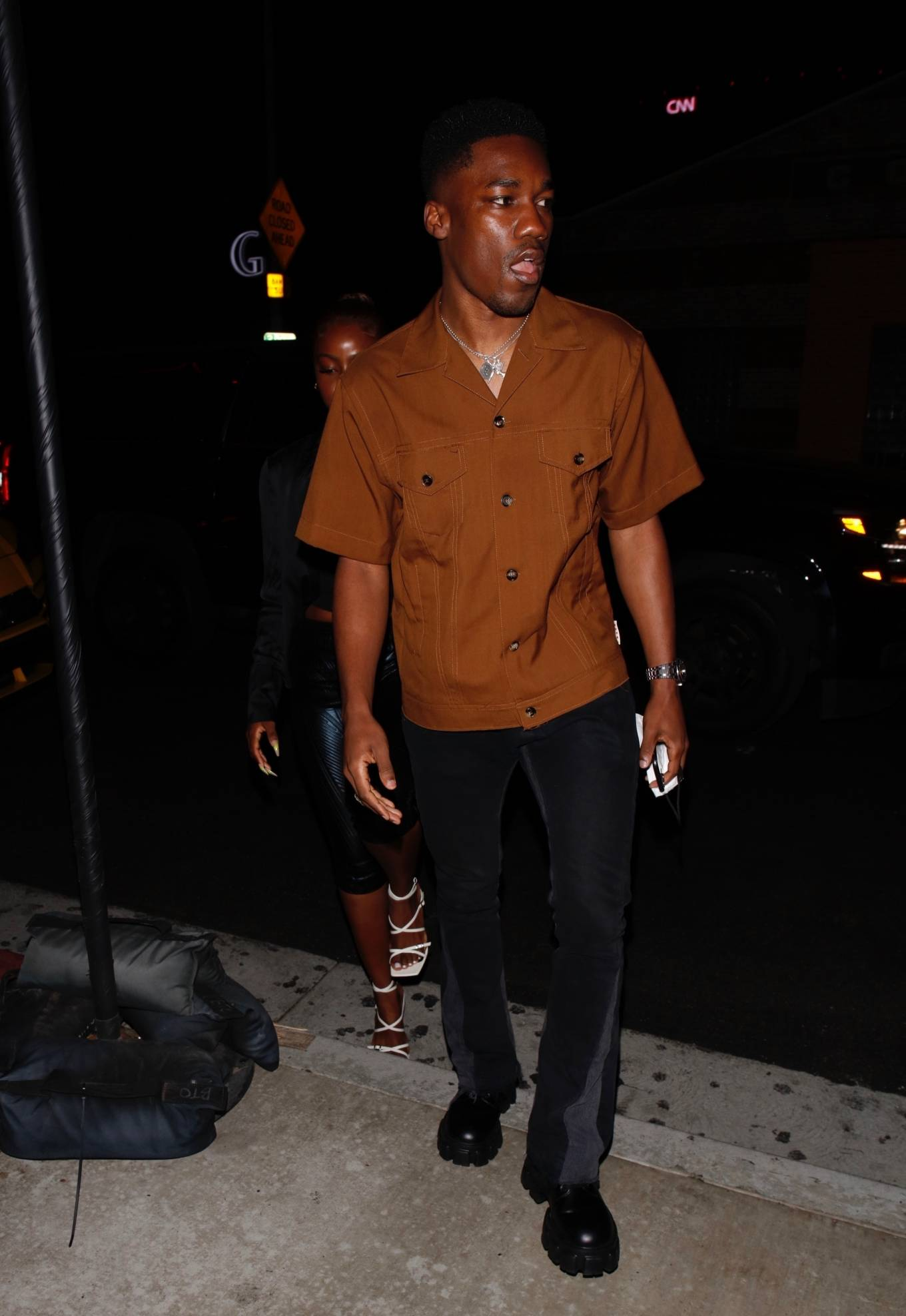 Justine Skye 2021 : Justine Skye – Steps out for a romantic dinner date at TAO in Hollywood-03