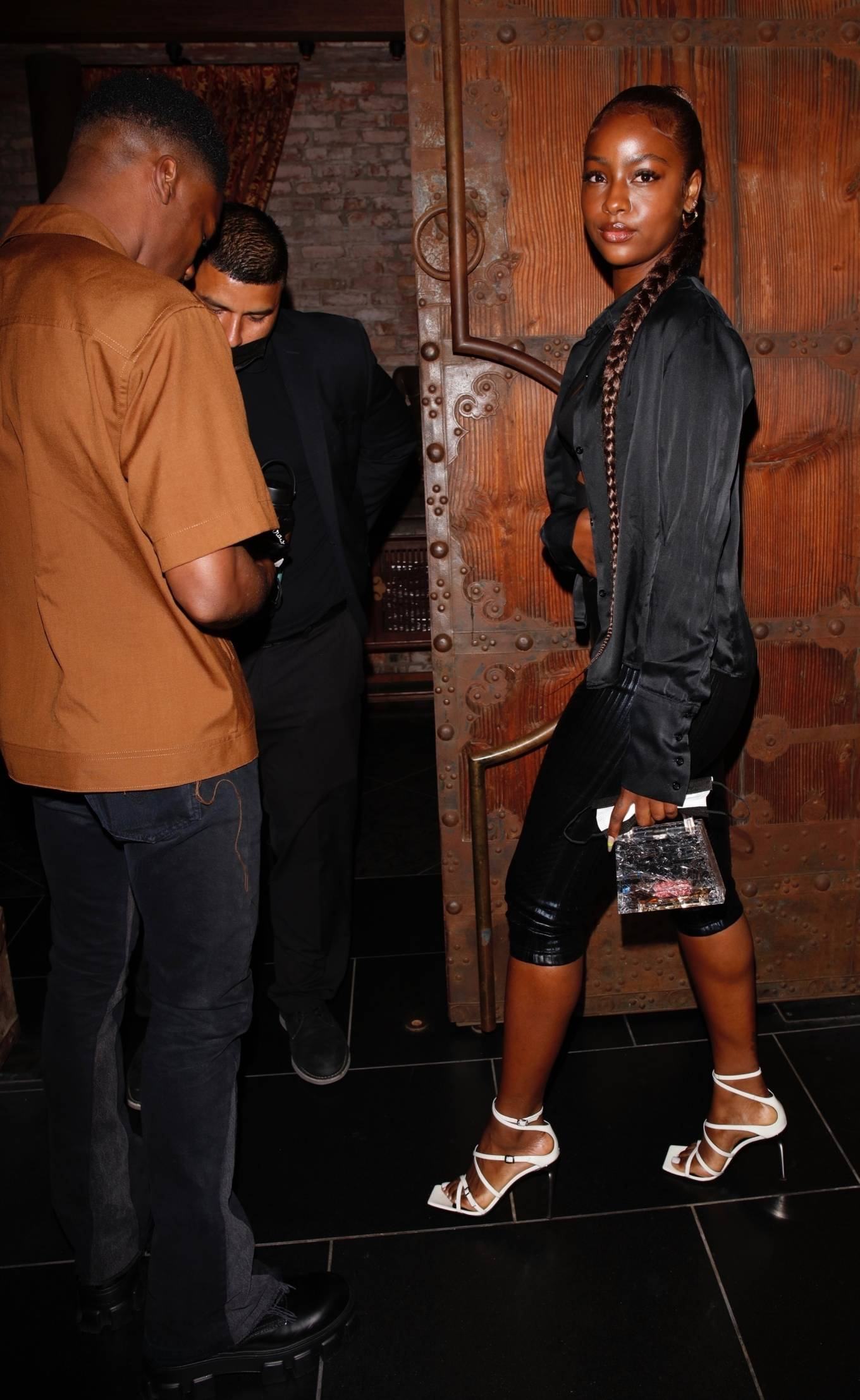 Justine Skye 2021 : Justine Skye – Steps out for a romantic dinner date at TAO in Hollywood-06