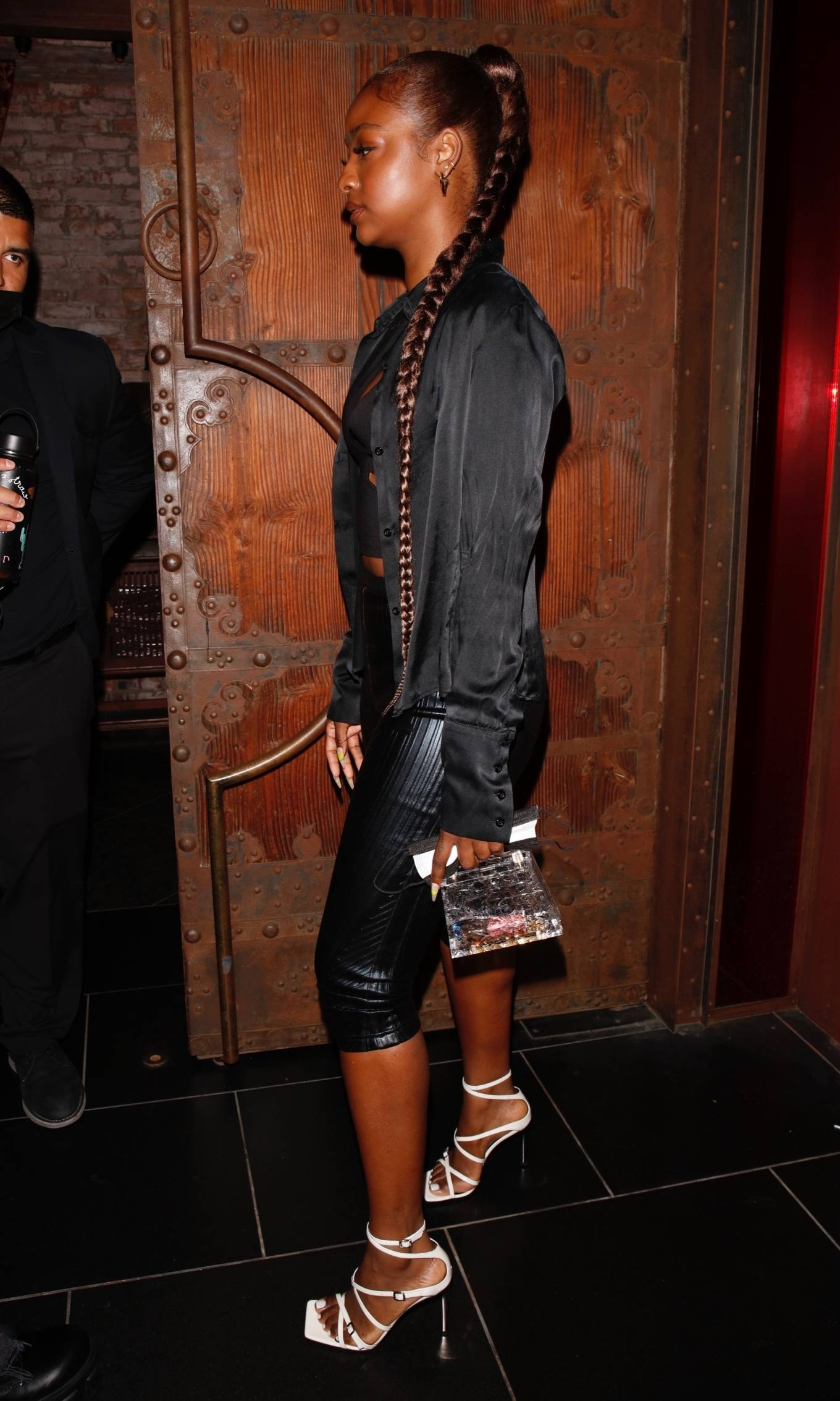 Justine Skye 2021 : Justine Skye – Steps out for a romantic dinner date at TAO in Hollywood-09