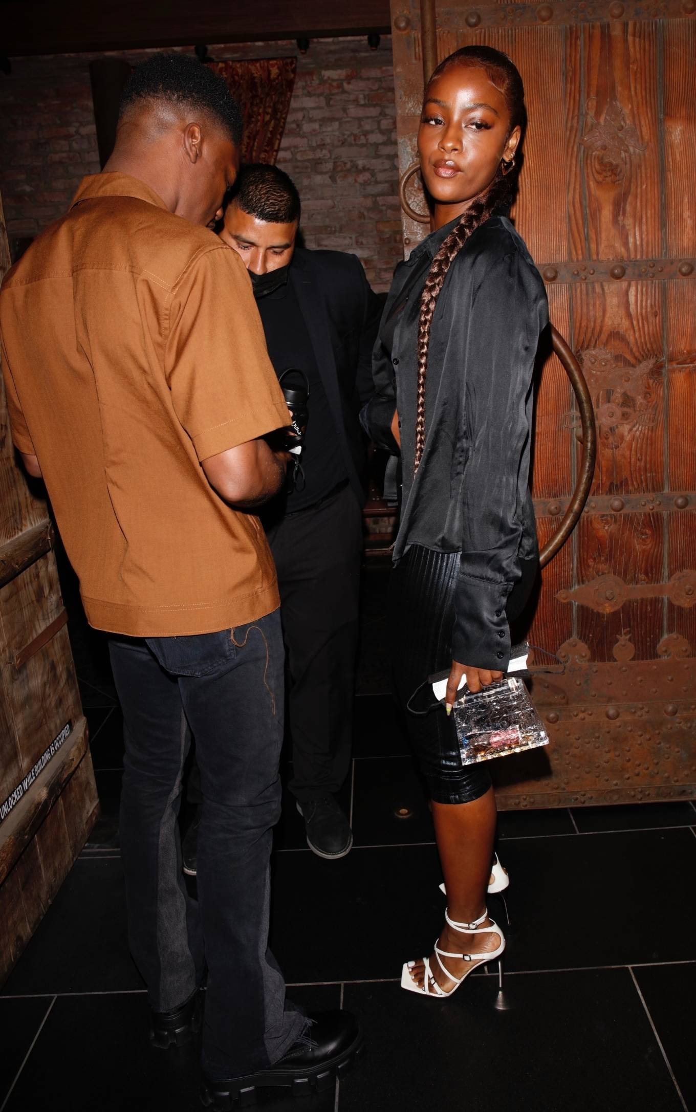 Justine Skye 2021 : Justine Skye – Steps out for a romantic dinner date at TAO in Hollywood-14