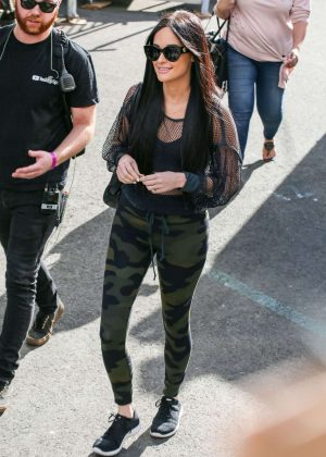 Kacey Musgraves - Arrives at Jimmy Kimmel Live in Hollywood
