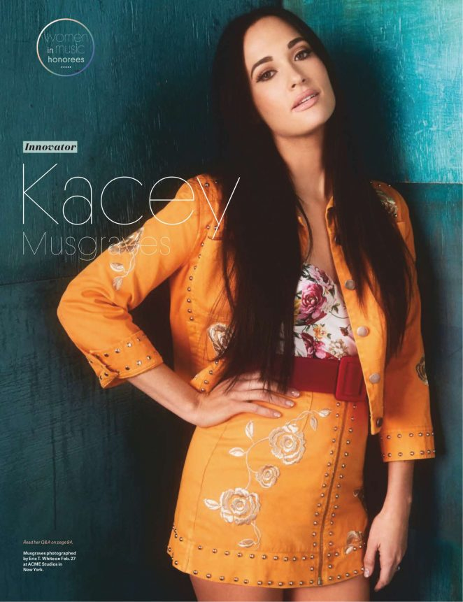 Kacey Musgraves – Billboard 'Woman of the Year' (December