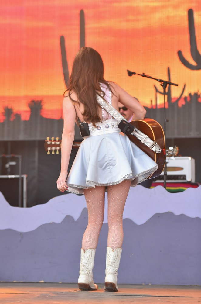 Kacey Musgraves – NCAA March Madness Music Festival – Day 3 in Indianapolis
