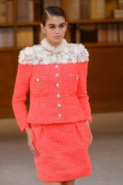 Kaia Gerber - 2019 Paris Fashion Week - Chanel Runway Haute Couture FW 19-20
