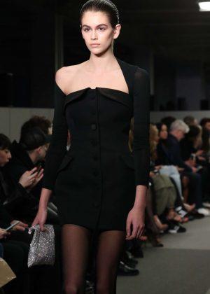 Kaia Gerber - Alexander Wang Fashion Show 2018 in New York