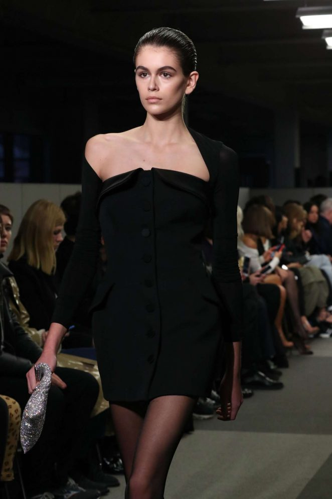 Kaia Gerber - Alexander Wang Show Runway 2018 in NY