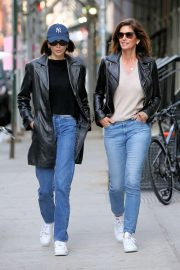 Kaia Gerber and Cindy Crawford - Out in New York