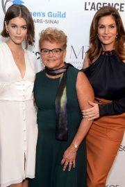 Kaia Gerber and Cindy Crawford - Women's Guild Cedar's-Sinai Luncheon in LA