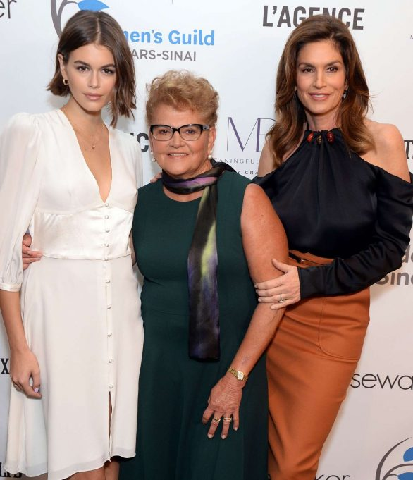 Kaia Gerber and Cindy Crawford - Women's Guild Cedar's-Sinai Luncheon in LA