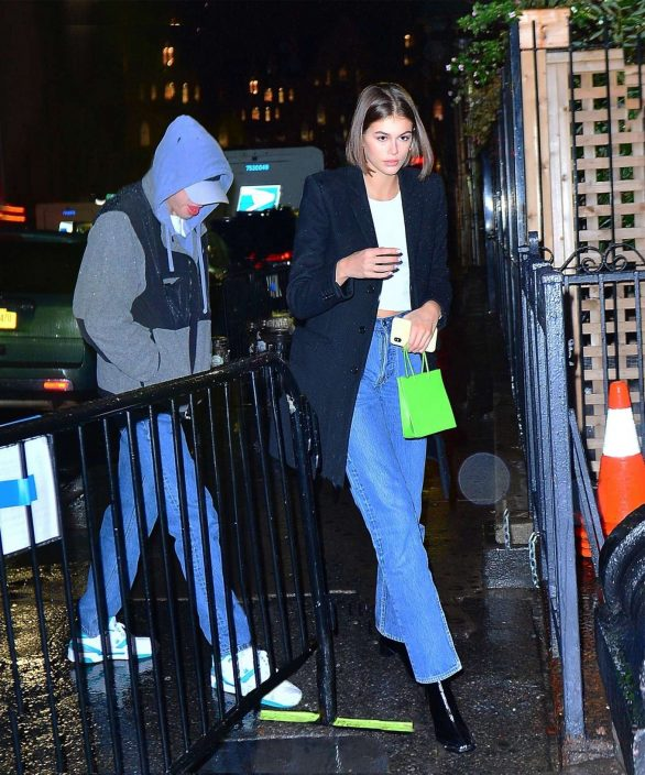 Kaia Gerber and Pete Davidson go to Webster Hall to watch Charlotte Lawrence perform in NY