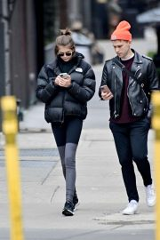 Kaia Gerber and Tommy Dorfman - Out in New York City