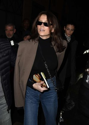 Kaia Gerber - Arrives at the Isabel Marant Show in Paris