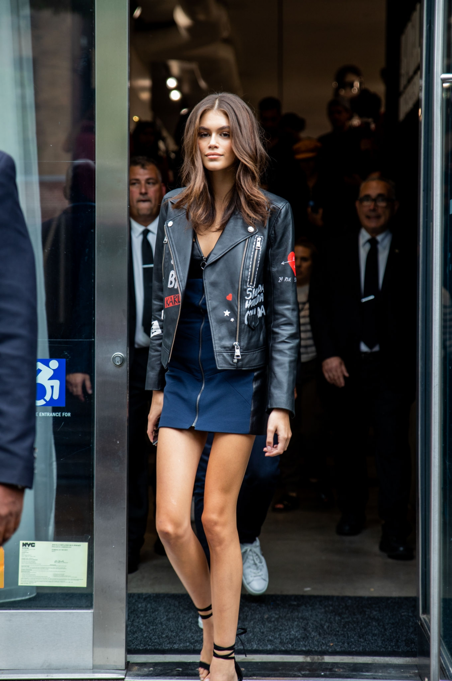 Kaia Gerber at New York Fashion Week in NYC