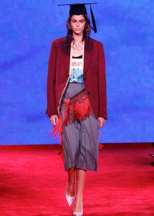 Kaia Gerber - Calvin Klein Runway Show SS 2019 in NYC