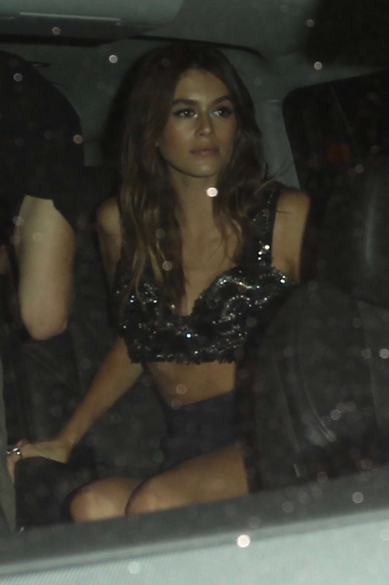Kaia Gerber - Celebrates her 16th birthday in West Hollywood