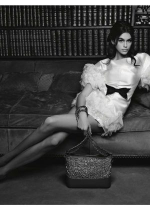 Kaia Gerber - Chanel Handbags Campaign 2018