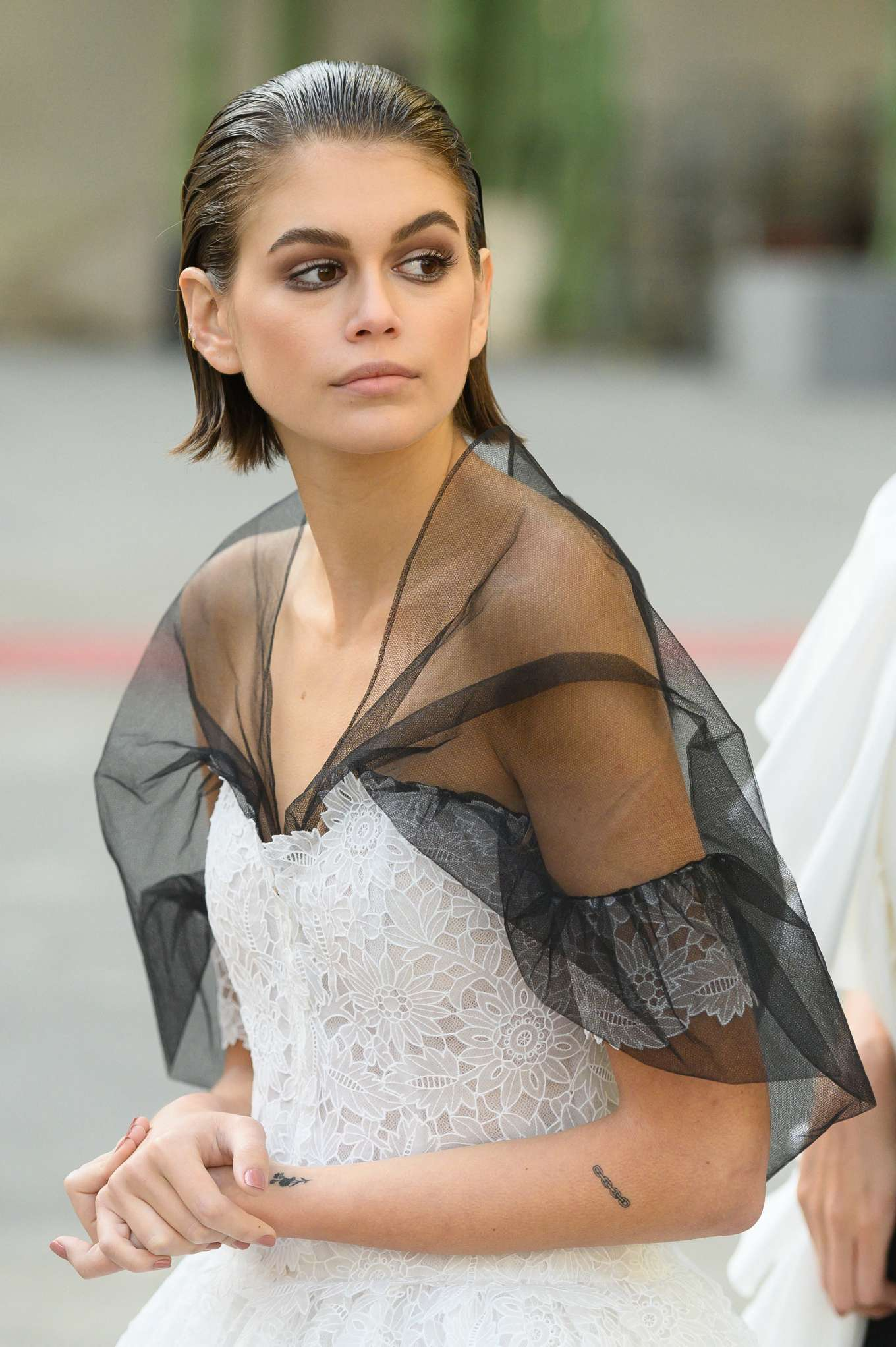 Kaia Gerber - Chanel Haute Couture Backstage Show in Paris