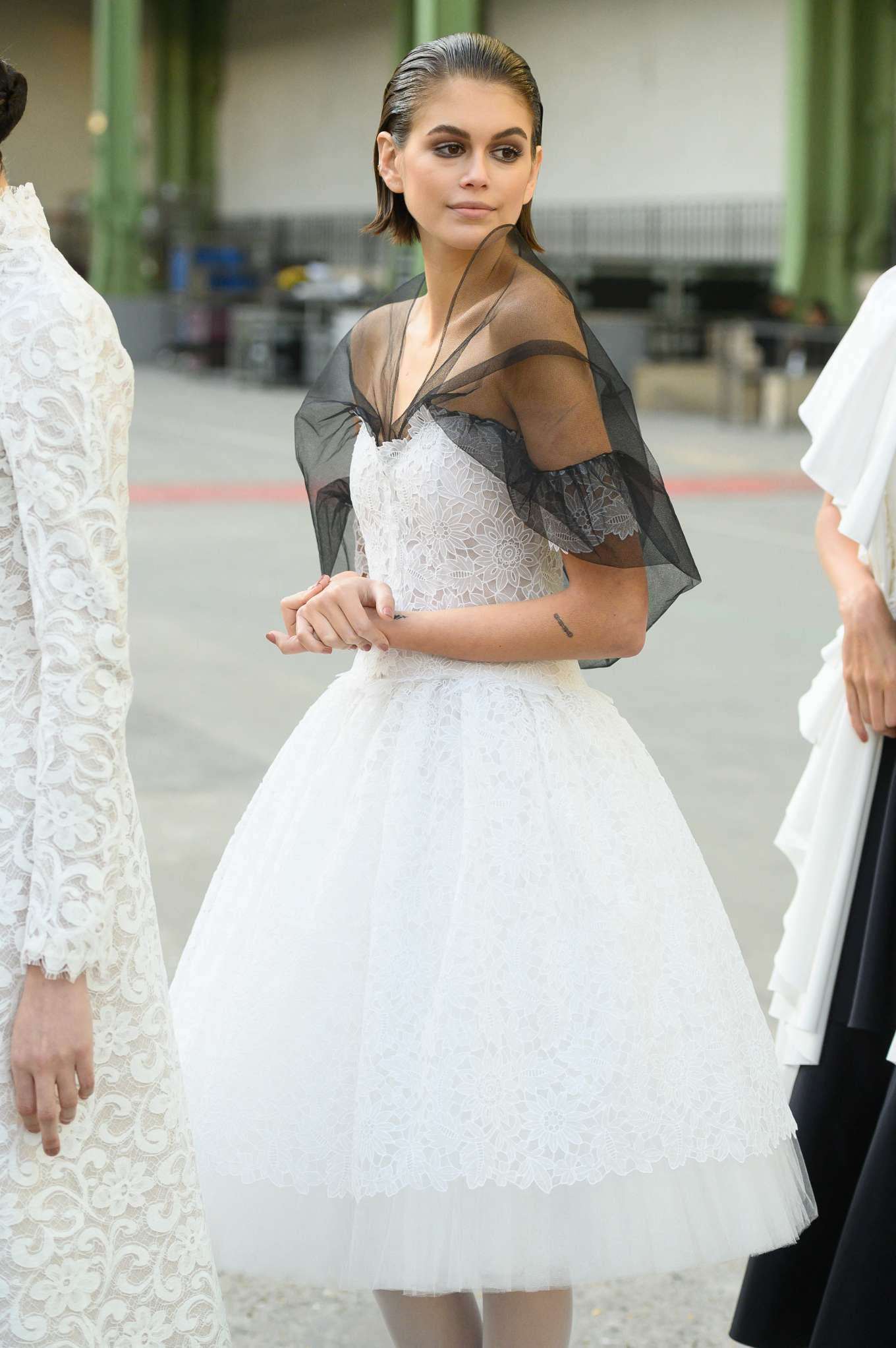 Kaia Gerber 2020 : Kaia Gerber – Chanel Haute Couture Backstage Show in Paris-27