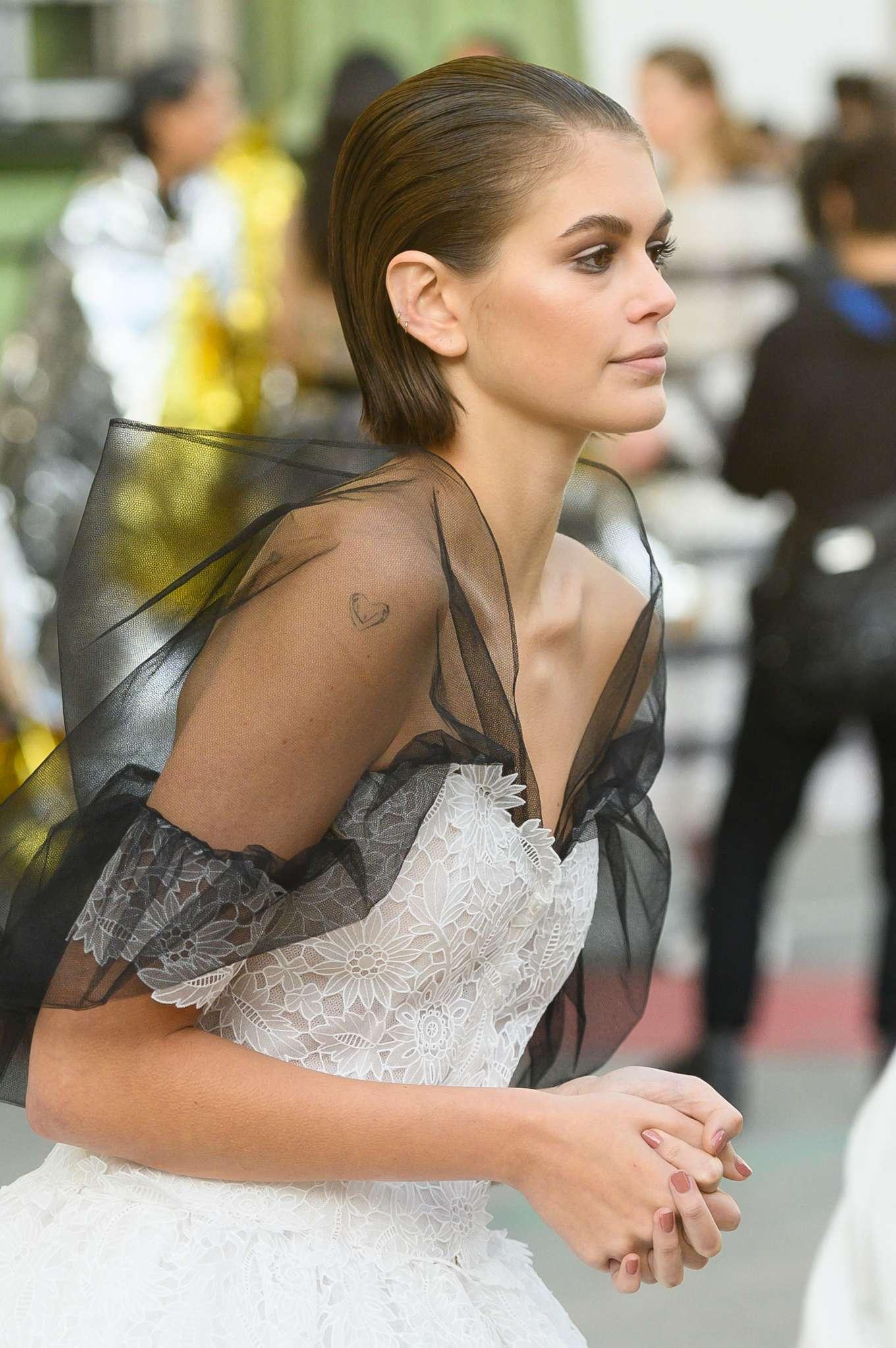 Kaia Gerber 2020 : Kaia Gerber – Chanel Haute Couture Backstage Show in Paris-34