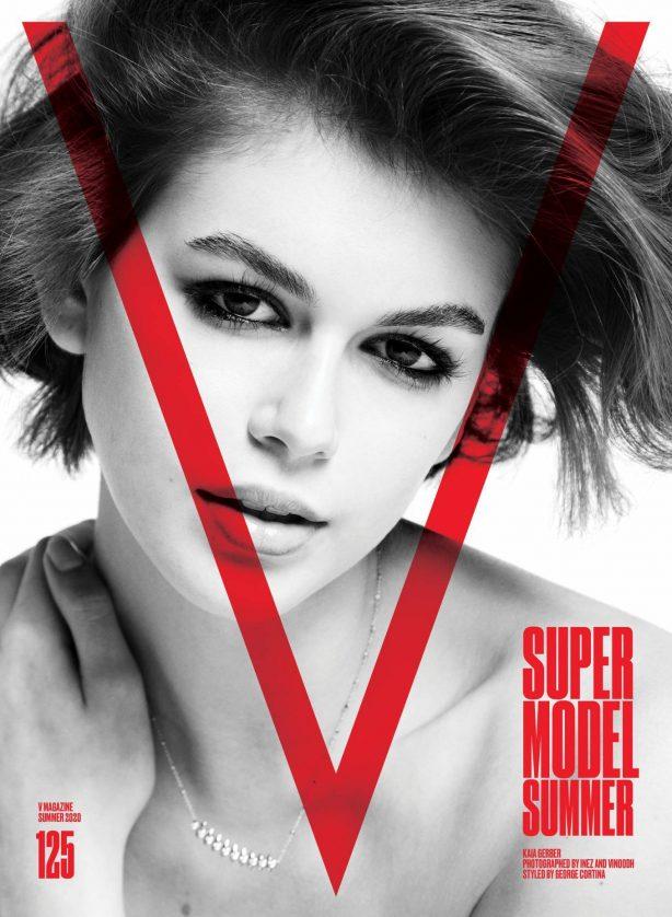 Kaia Gerber for V Magazine #125 Summer 2020