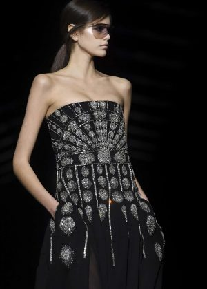 Kaia Gerber - Givenchy Runway Show in Paris