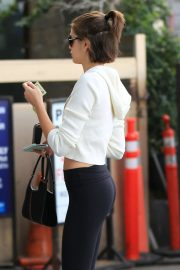 Kaia Gerber - Heads to the gym in Los Angeles