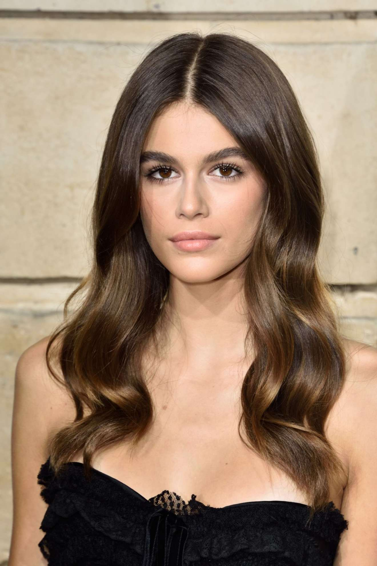 Kaia Gerber - Her Time Omega Photocall in PFW in Paris