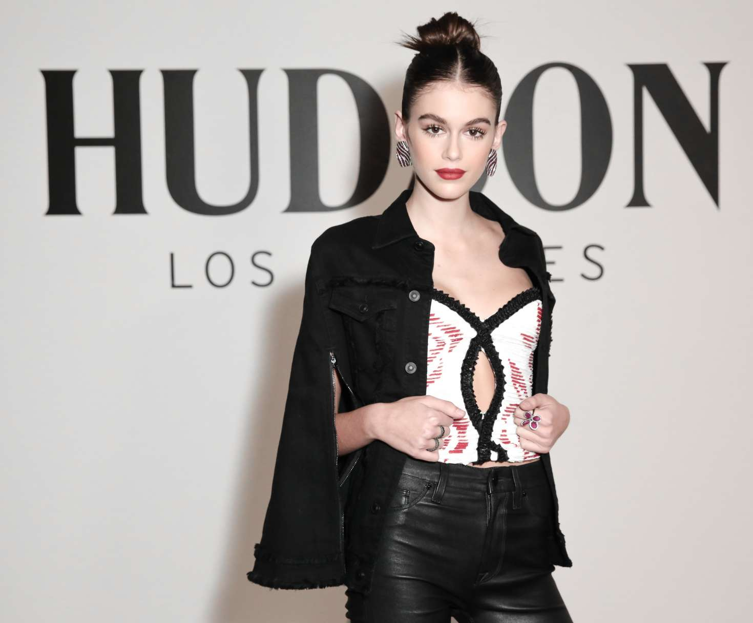 Kaia Gerber 2017 : Kaia Gerber: Hudson Jeans Spring Summer 2018 Preview -28