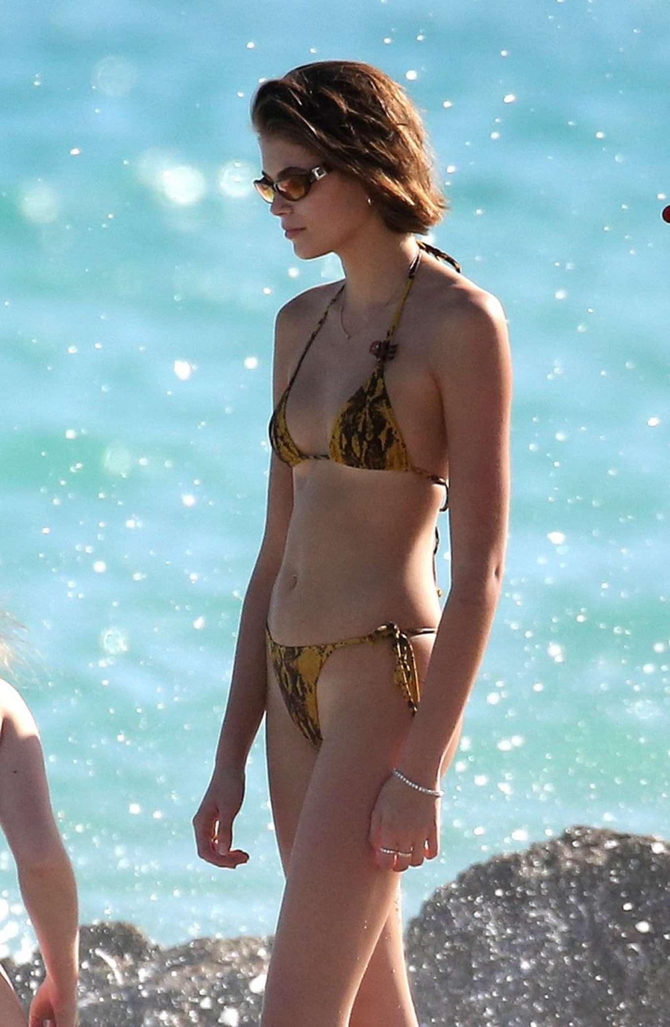 Kaia Gerber In Bikini 2019 15 Gotceleb